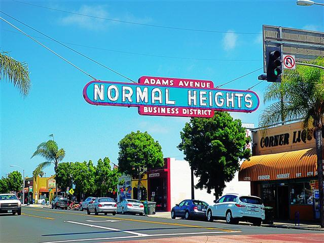 Normal Heights San Diego California
